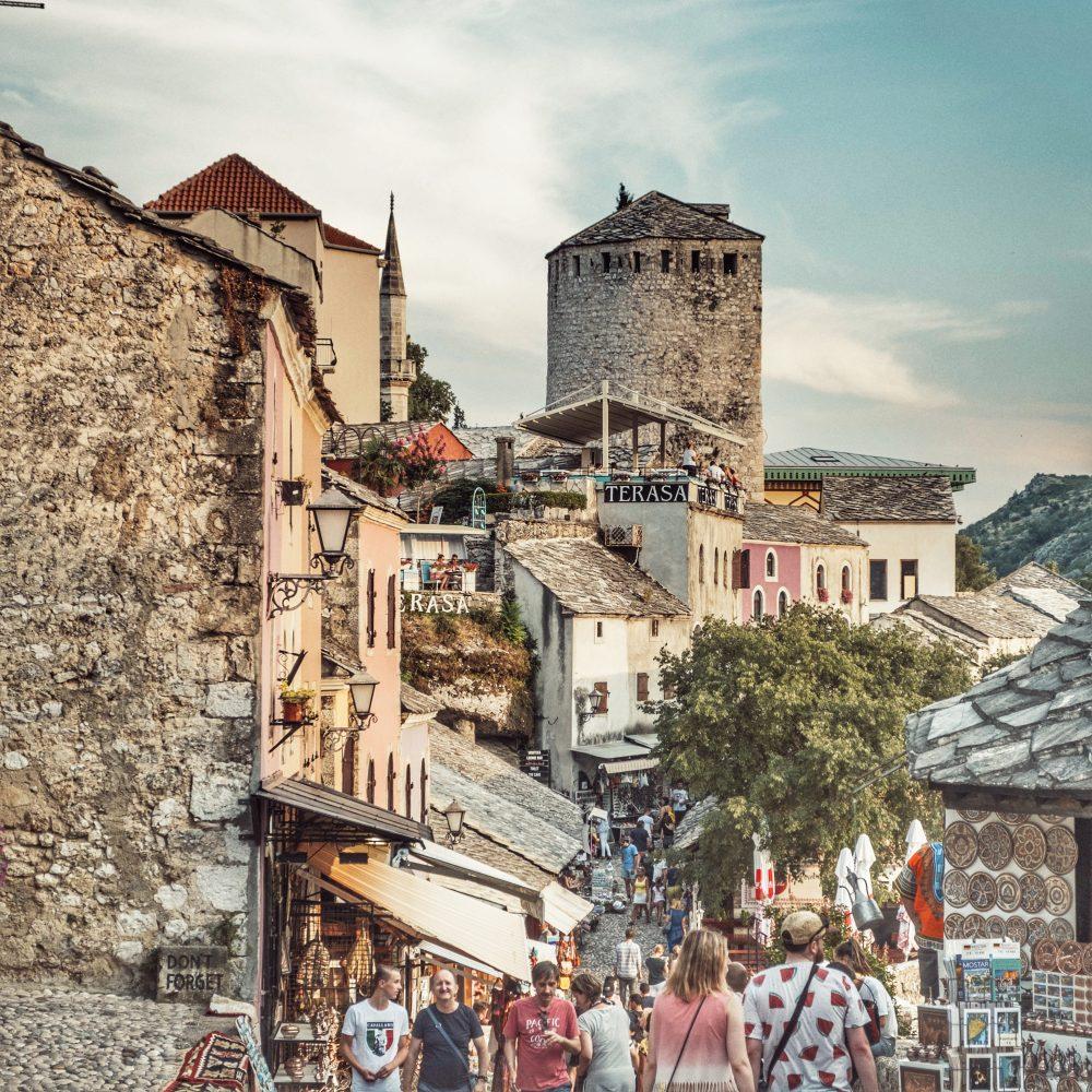 Mostar en la ruta por los Balcanes en autocaravana