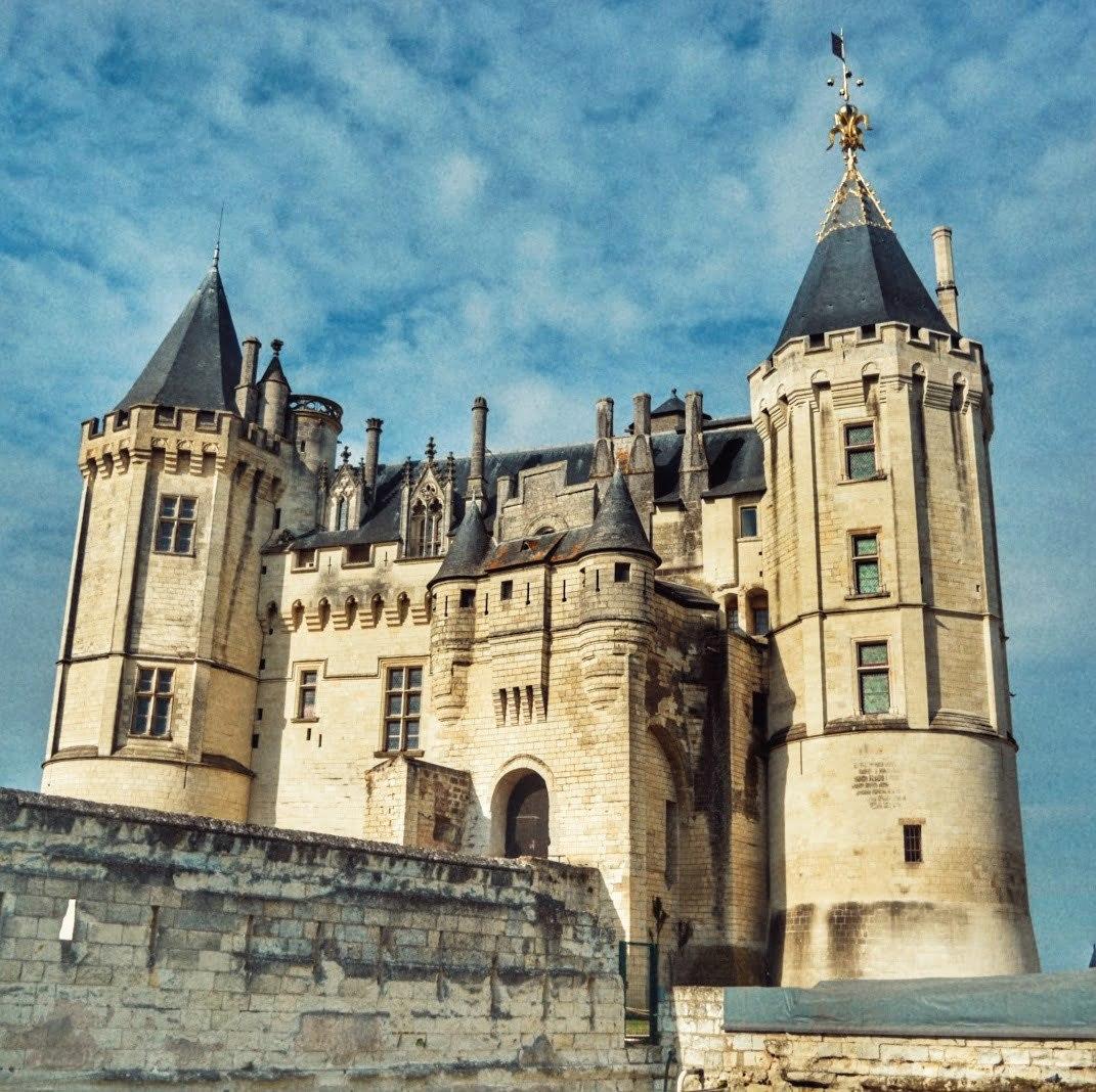 Castillos del Loira, una ruta y la primera parada por 9 castillos en Saumur