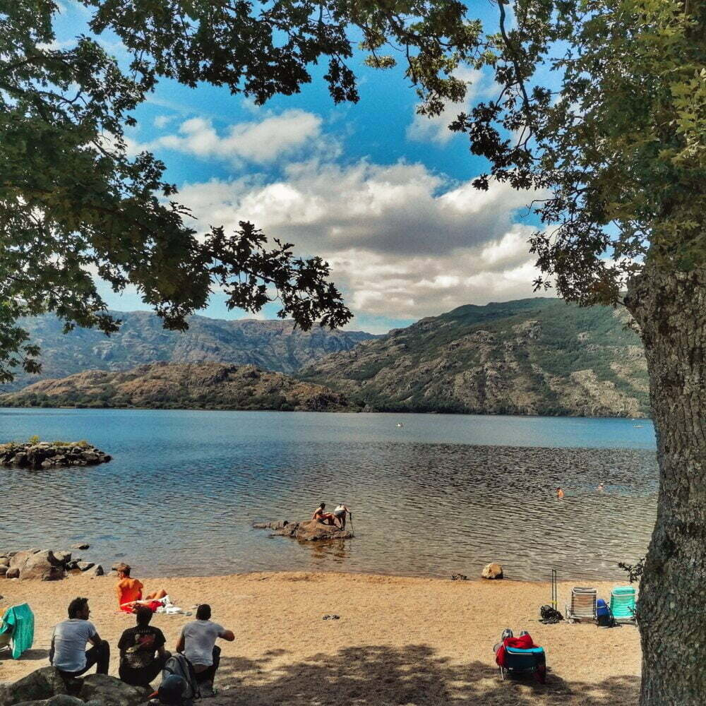 Laguna de los Peces itinerario adaptado en Zamora