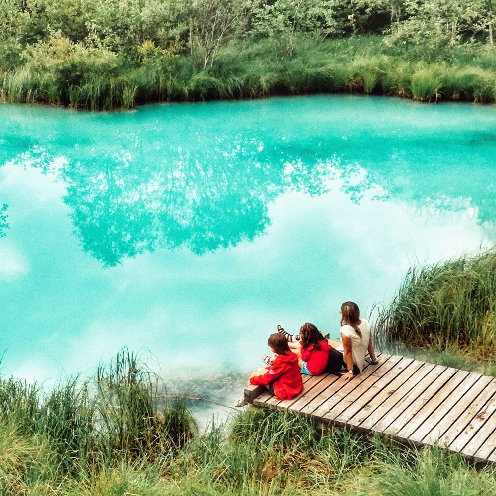 Zalenci de ruta por Eslovenia en autocaravana