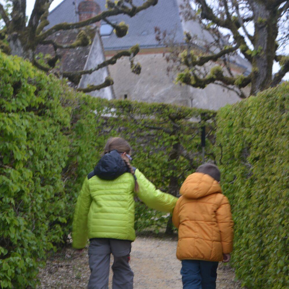 Los castillos del Loira : Castillo de Villandry