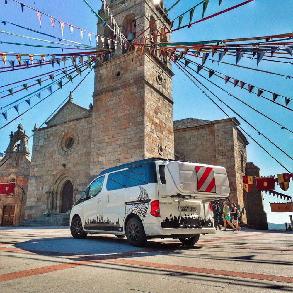 Puebla de Sanabria en autocaravana en una ruta por Zamora en furgo