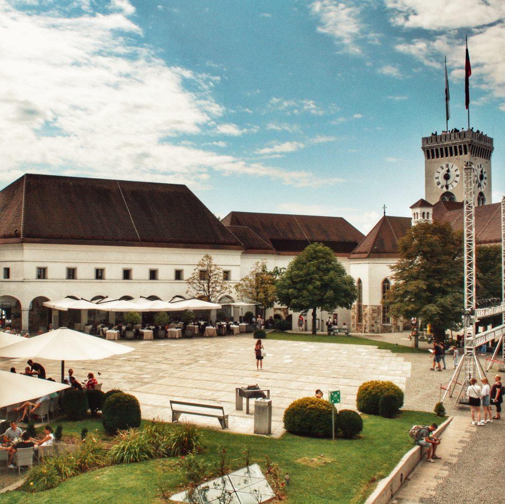 Ljubljana en autocaravana (castillo)