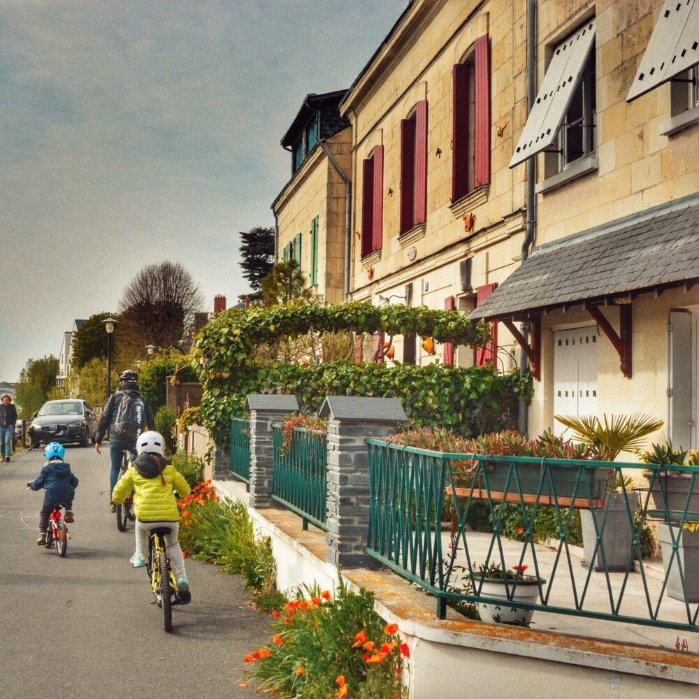 Castillos del Loira en bici