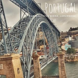 Portugal en autocaravana de Sur a Norte por @autocaravana_larumbera