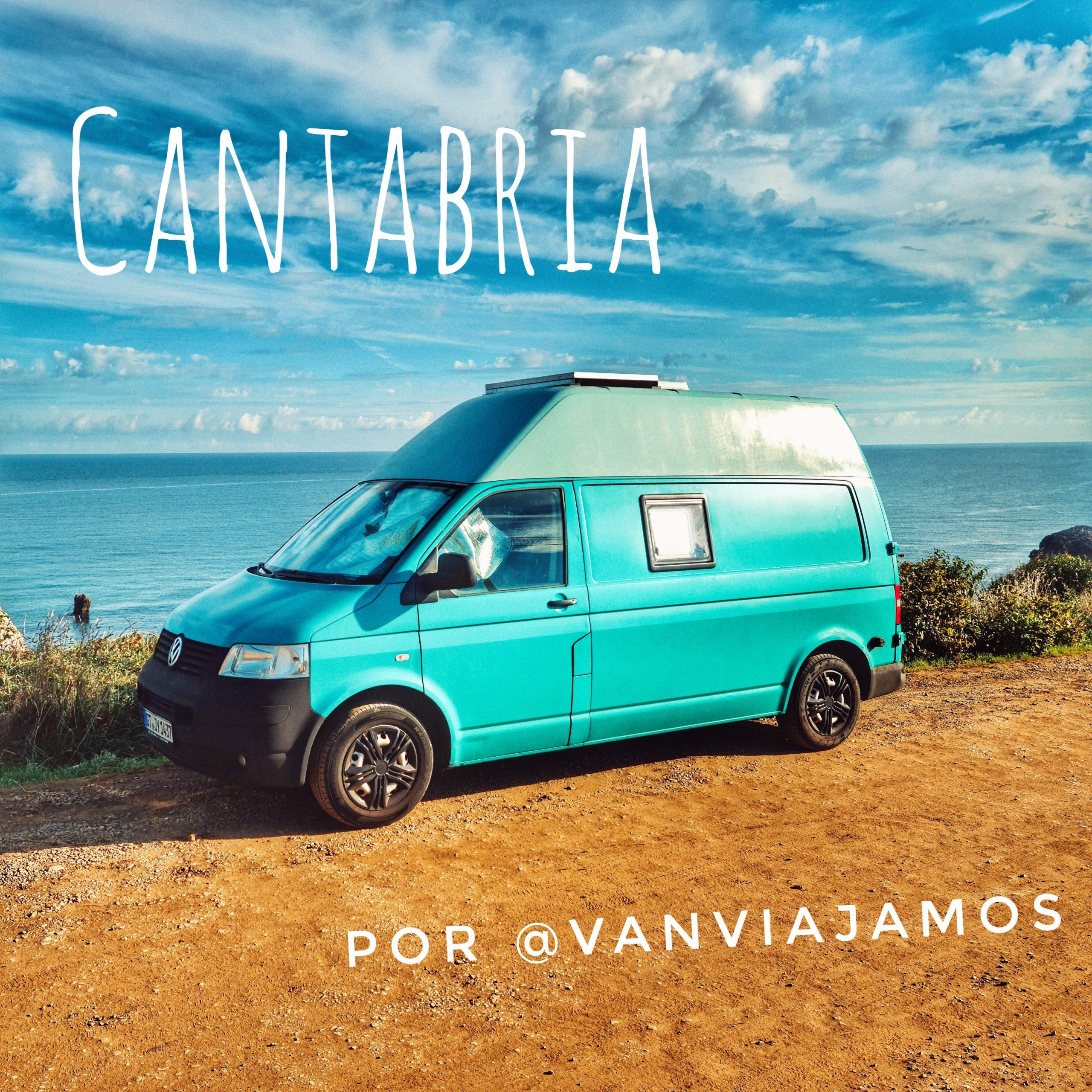 Kurzurlaub durch 2 der besten Strände Kantabriens mit dem Wohnmobil von @vanviagamos