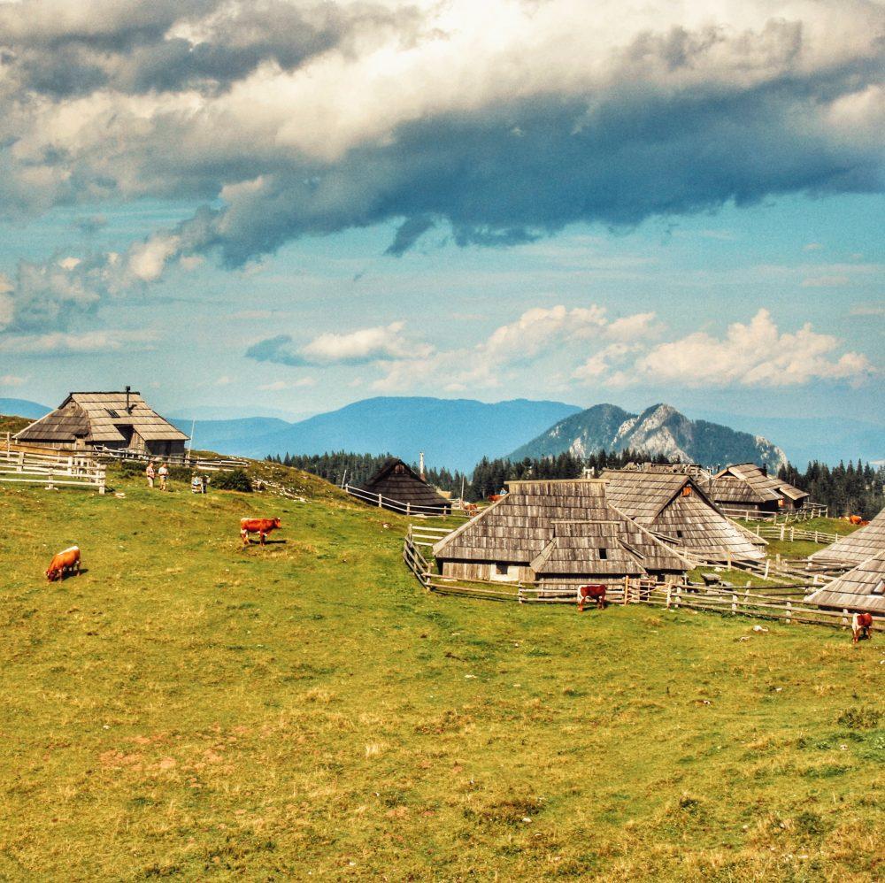Velika Planina en autocaravana en Eslovenia