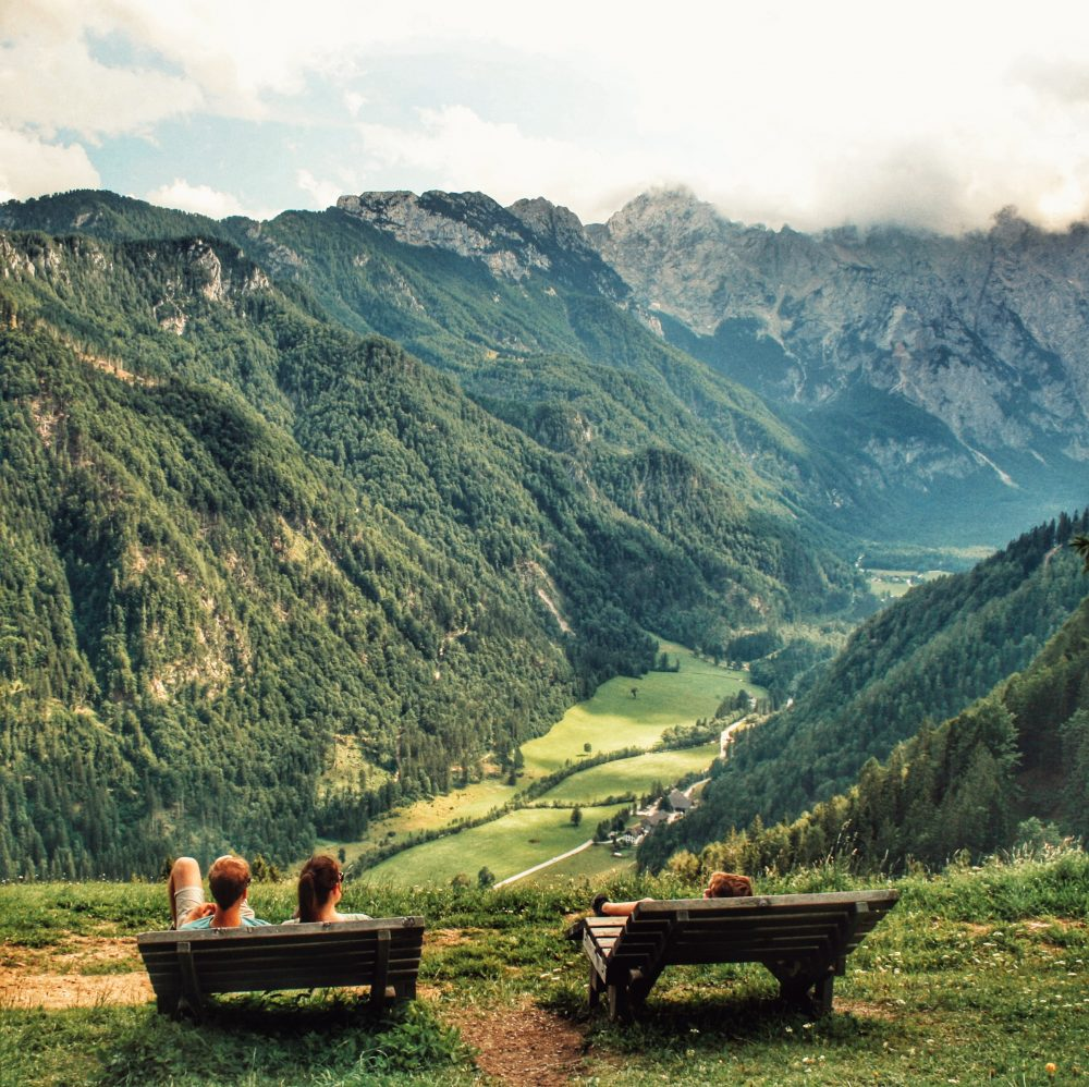 Solcava Ruta panoramica en autocaravana por Eslovenia