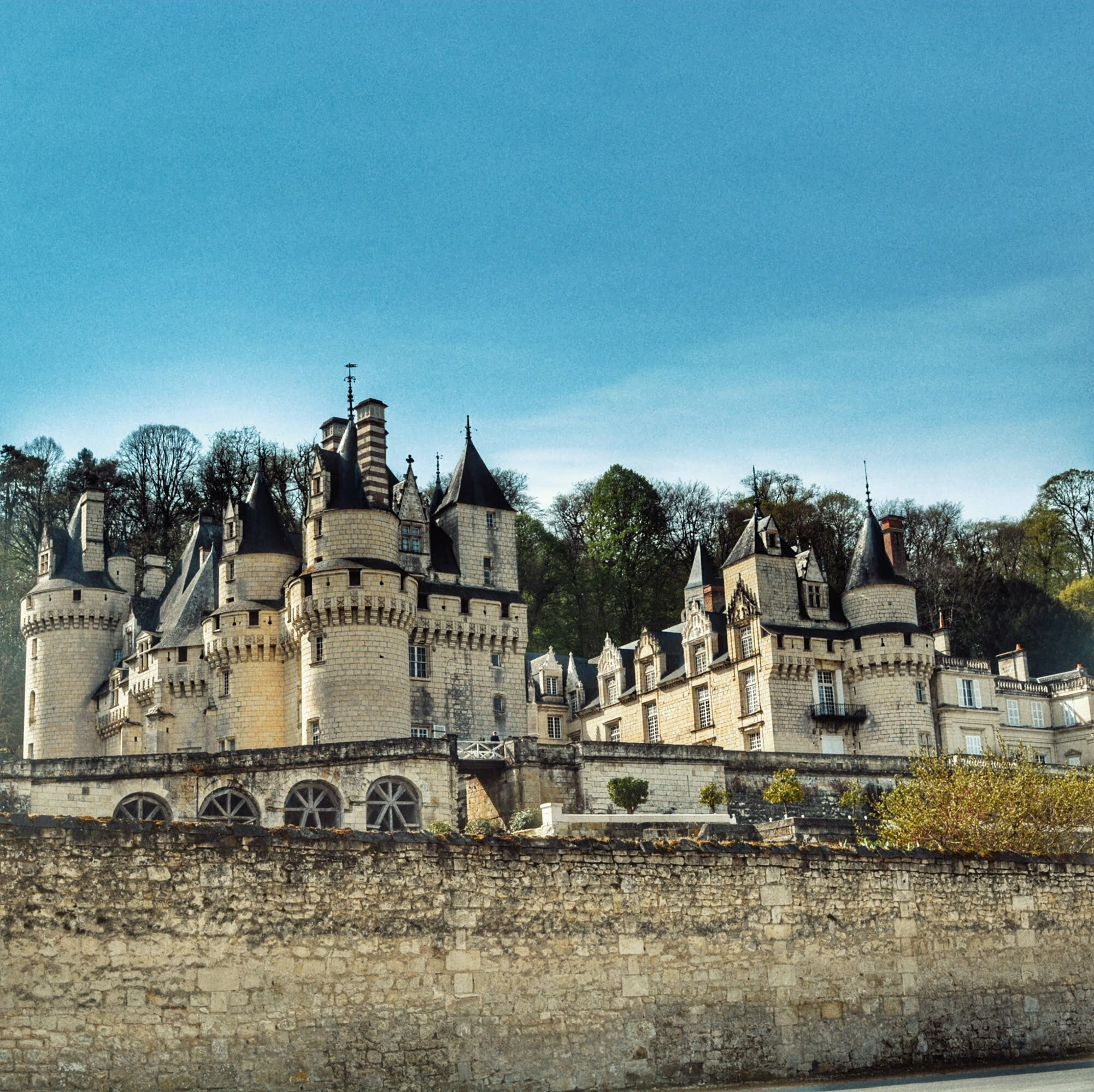 Los Castillos del Loira con niños: El Castillo de la Bella durmiente en Ussé