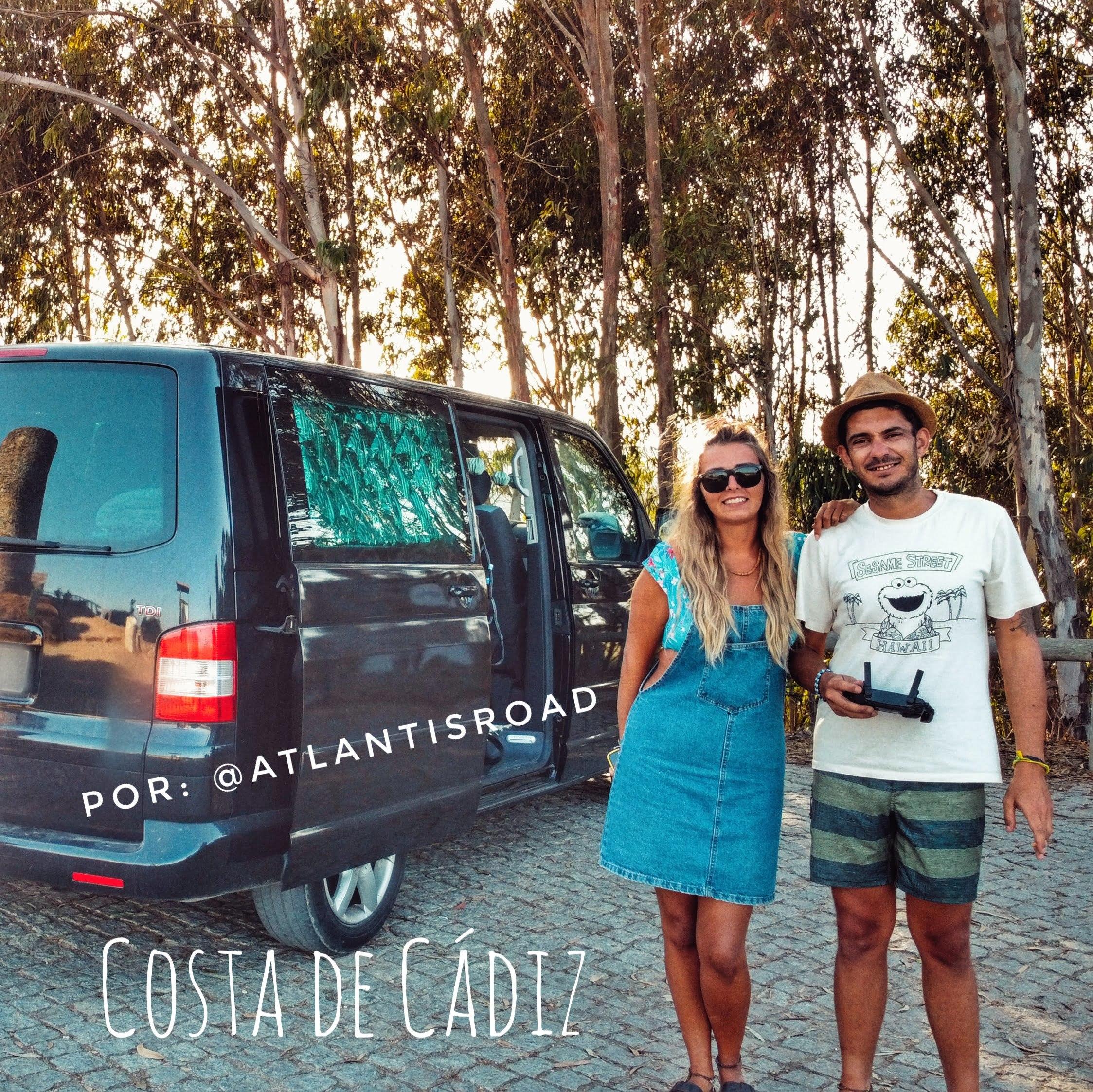 Itinerario lungo la costa di Cadice in camper di @atlantisroad