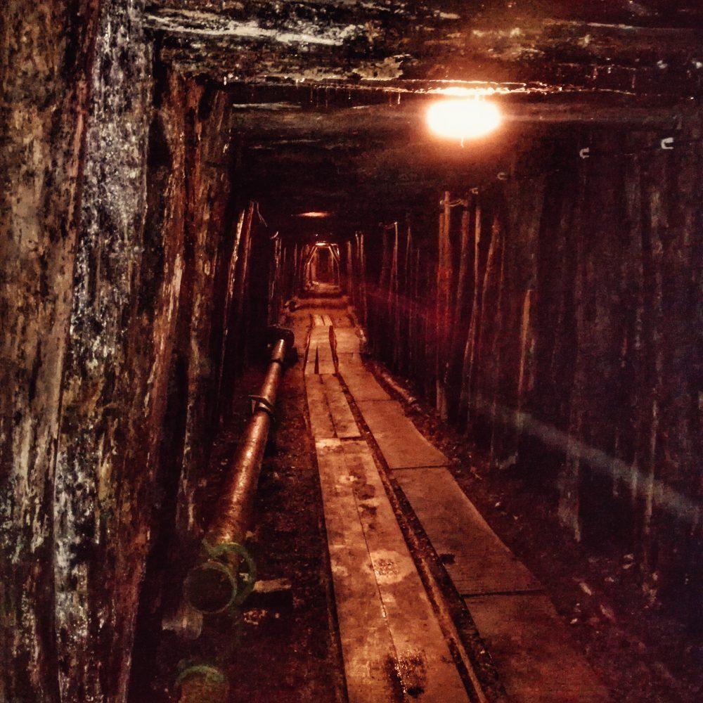 Idrija (museo de la mina de mercurio). Eslovenia en autocaravana con niños