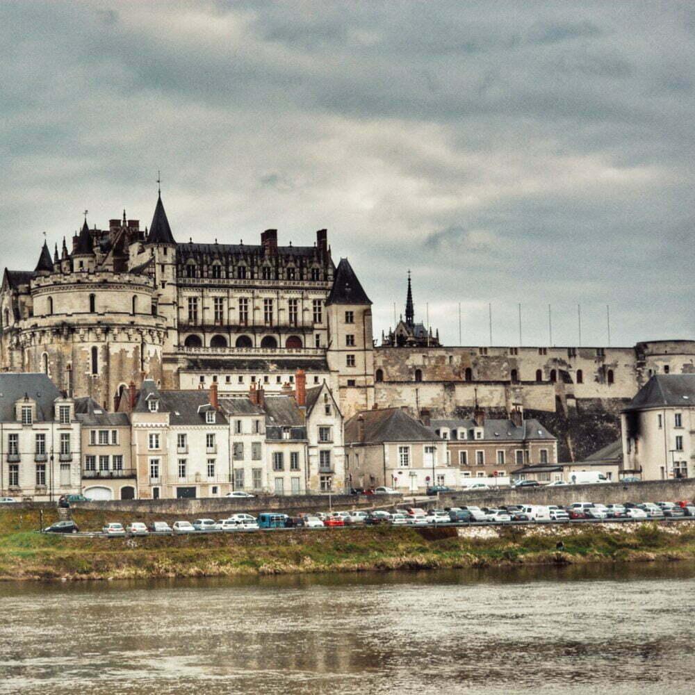 Francia castillos del Loira aquí el castillo de Amboise