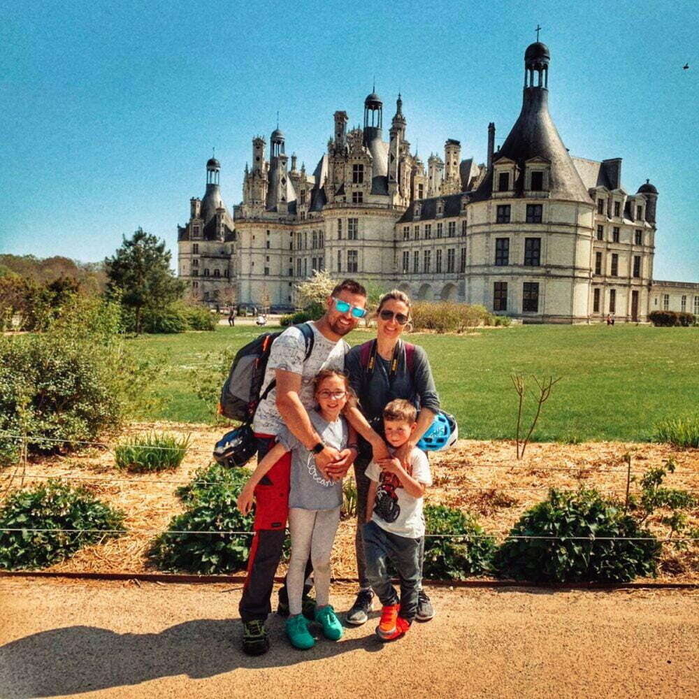 Castillos del Loira en autocaravana con parada al Castillo de Chambord