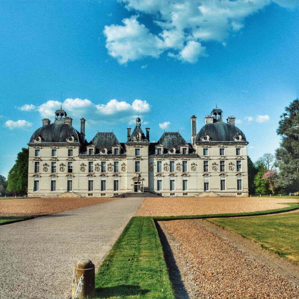 Ruta castillos del Loira en autocaravana con parada al castillo de Cheverny