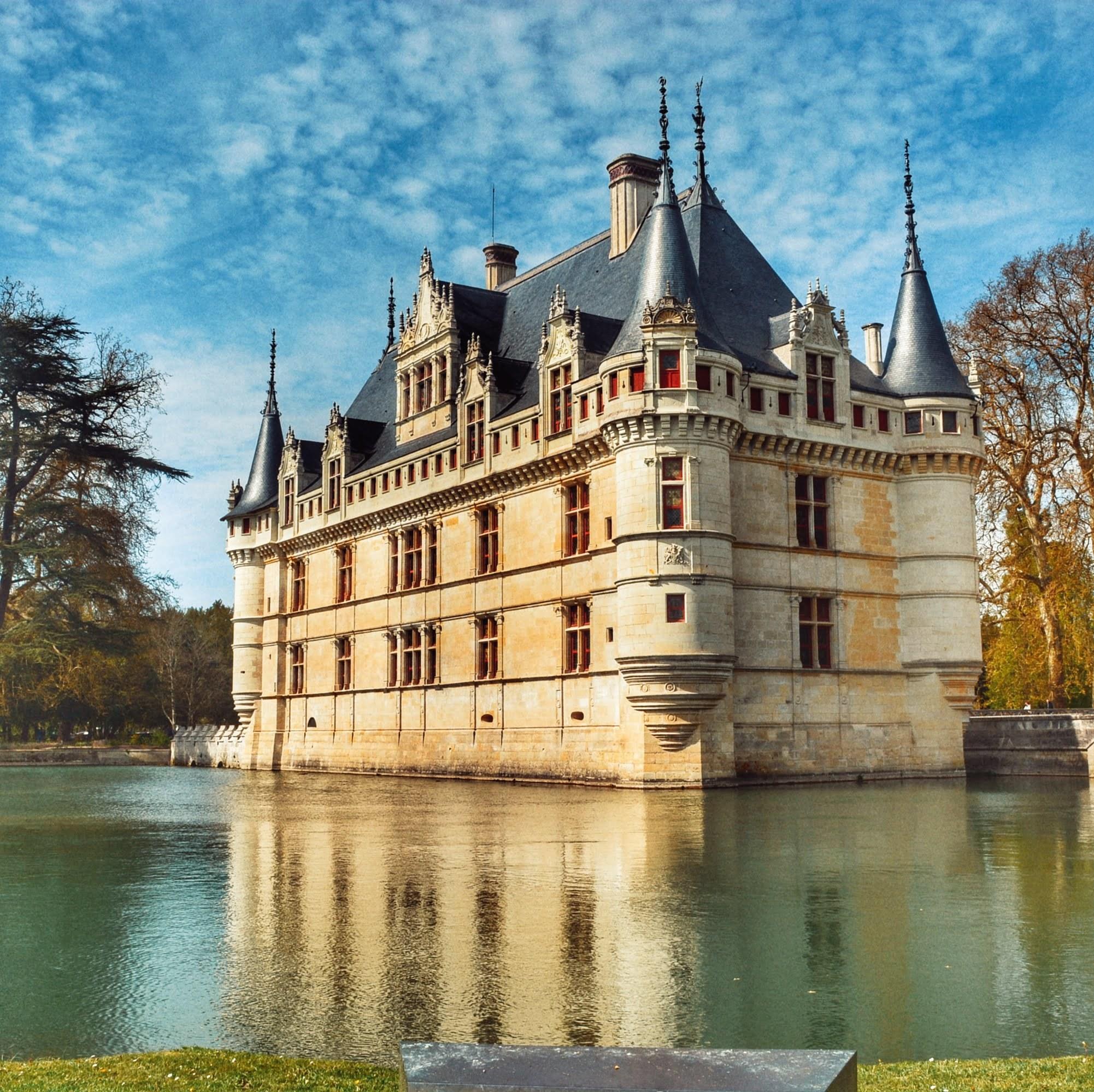 Ruta Castillos del Loira: El Castillo Azay le Rideau + 8 castillos más