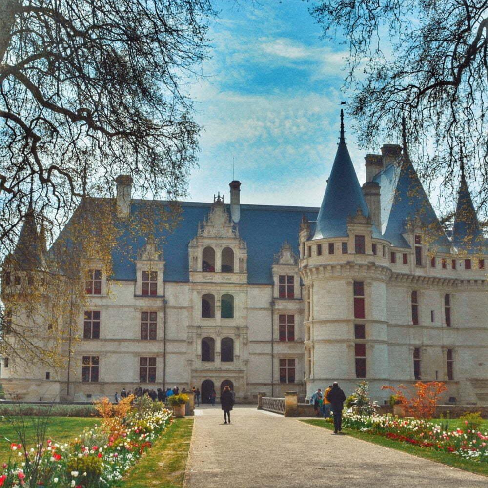 Castillo de Azay le Rideau uno de los 9 castillos de nuestra ruta de los Castillos del Loira