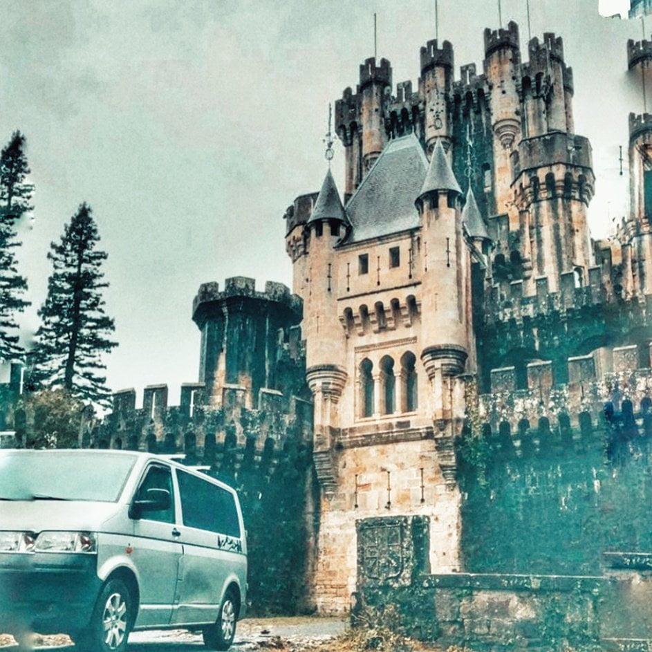 Paesi Baschi in camper al Castello di Bultron