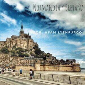 Normandía y la Bretaña Francesa en furgo por @familyenfurgo