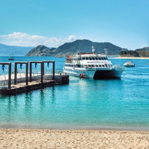 Discover the Cíes Islands on your route through Galicia by motorhome or camper