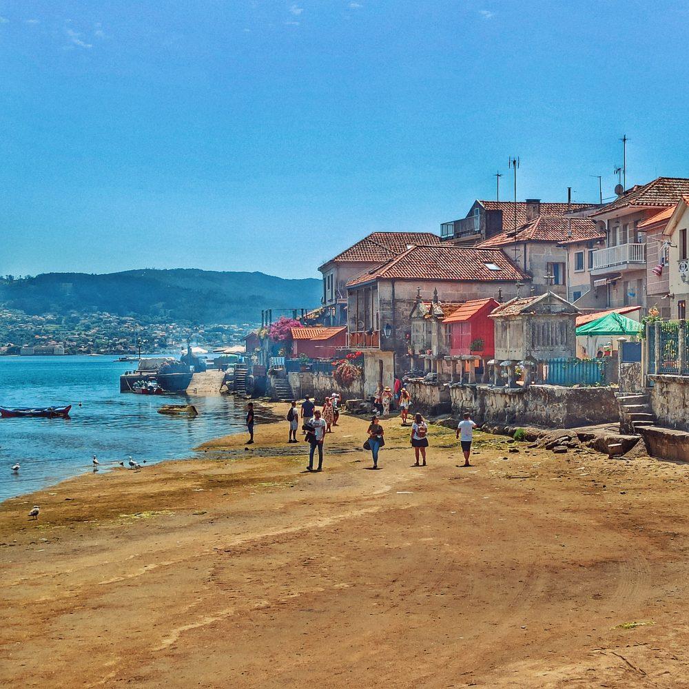Combarro a la ruta per Galícia en autocaravana