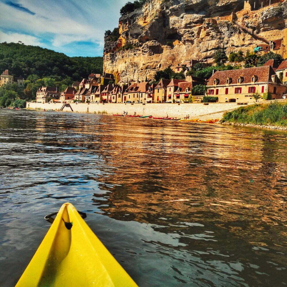 Perigord que ver: Canoas - La Roque Gageac