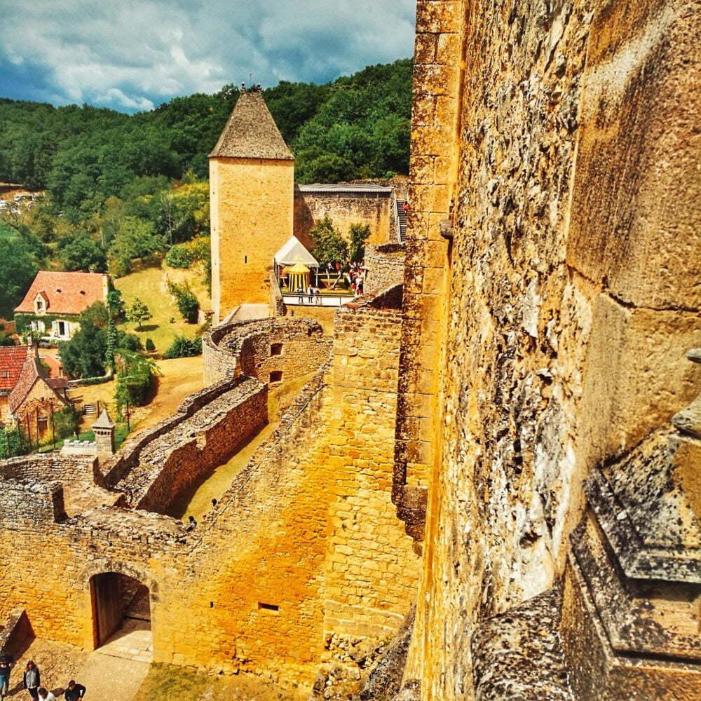 Perigord que ver: Castelnaud pueblo más bonito de Francia