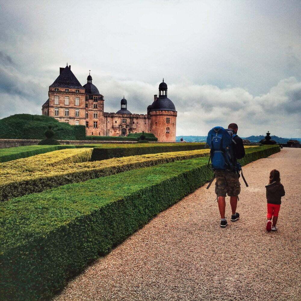 Attrazioni della Dordogna e Perigord in camper Hautefort Castle