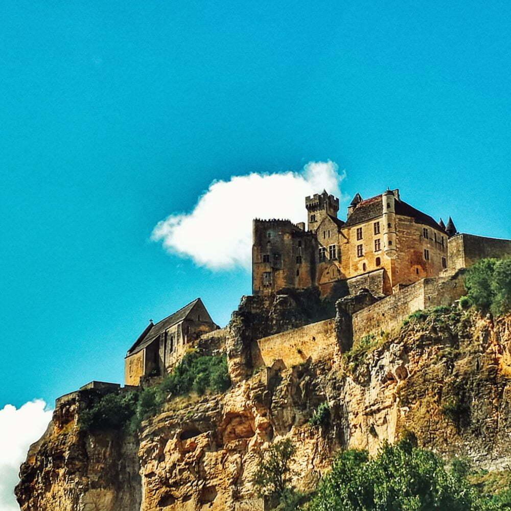 Dordogne Sehenswürdigkeiten und Perigord von Wohnmobil Beynac Castle