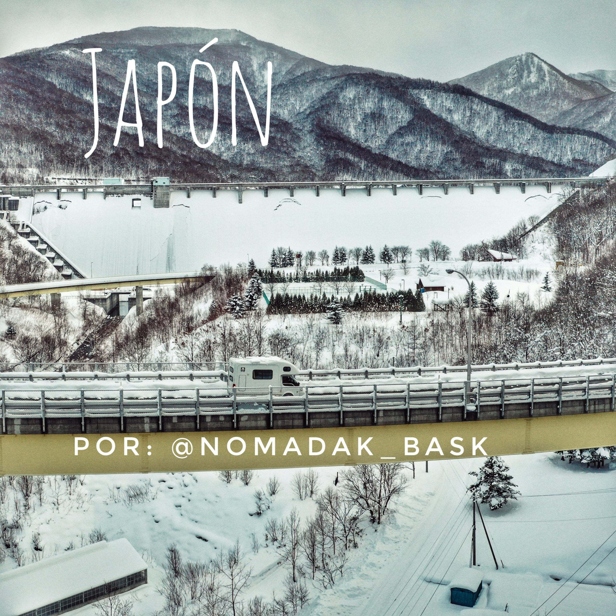 Giappone in camper, un viaggio per gli amanti dello sci di @nomadak_bask