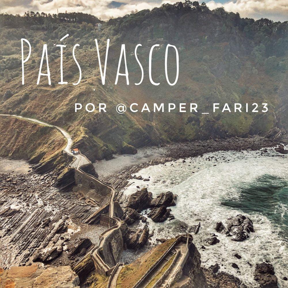 7 días por el País Vasco en furgoneta camper o AC por @camper_fari23