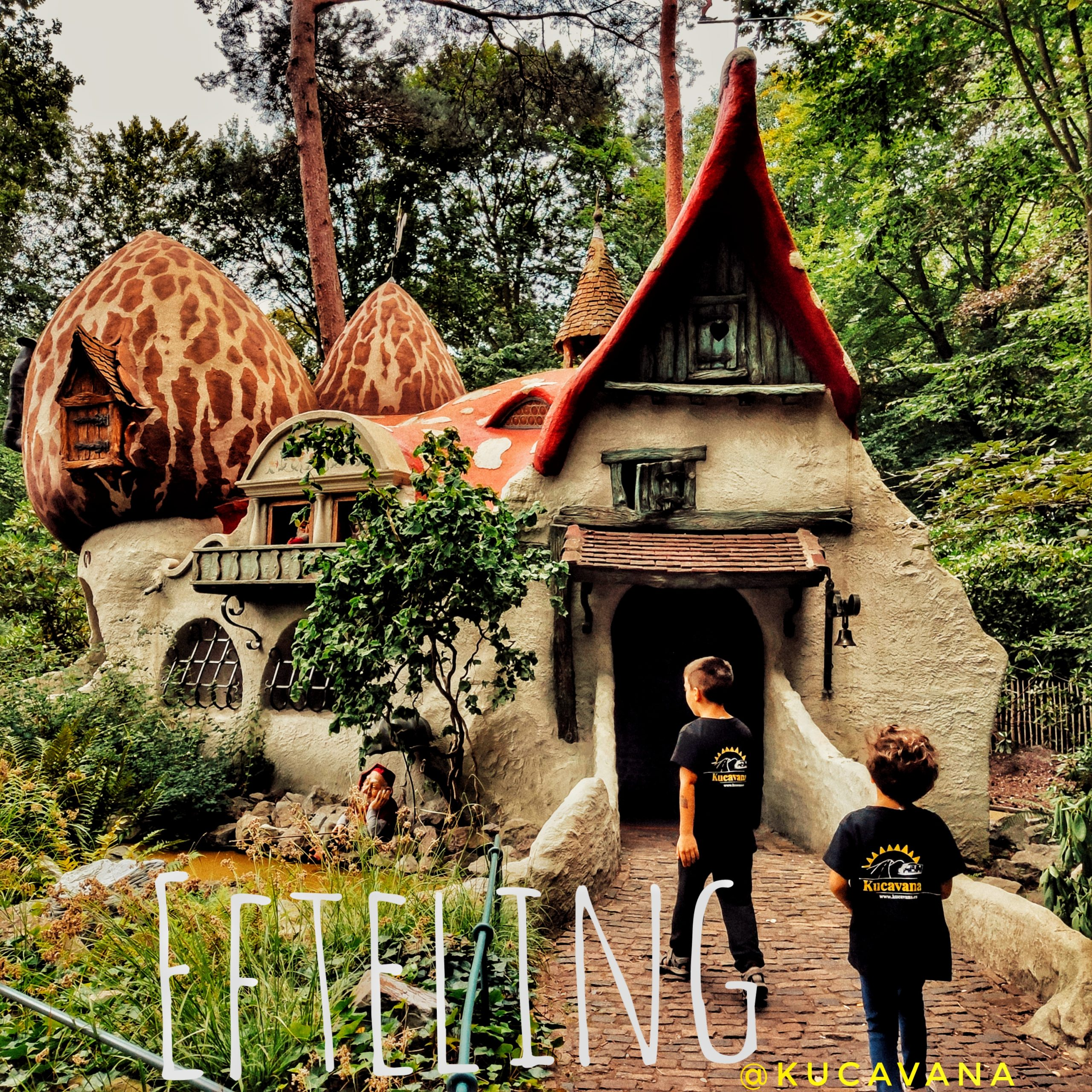 Le meilleur parc d'attractions de Hollande et le plus ancien d'Europe: Efteling