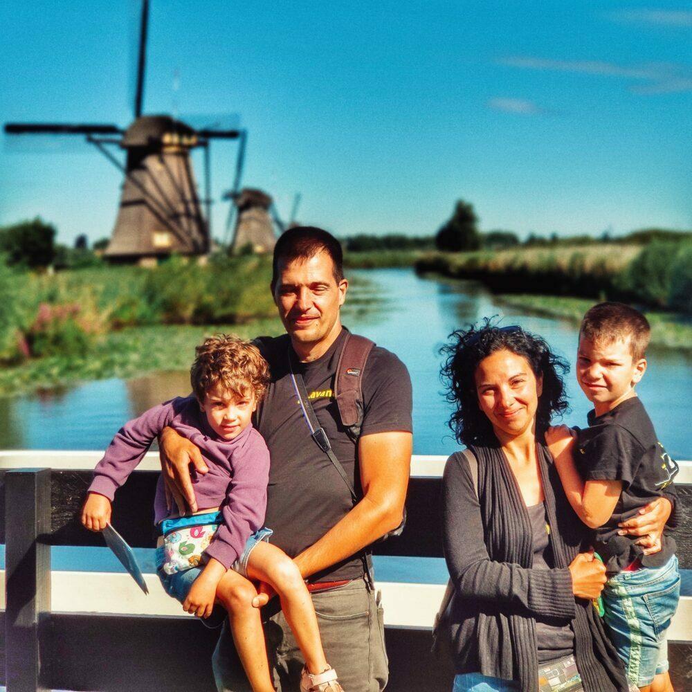 Los molinos de Kinderdijk en autocaravana o camper