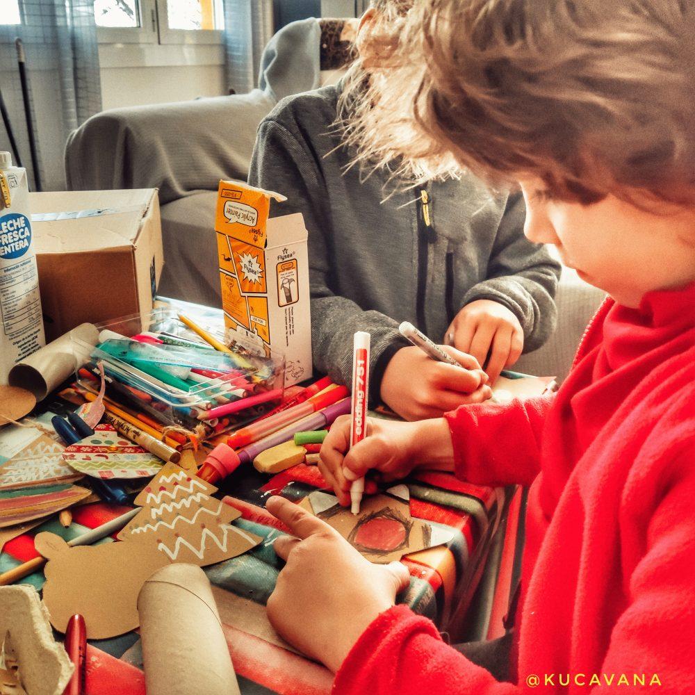 manualidad para navidad niños