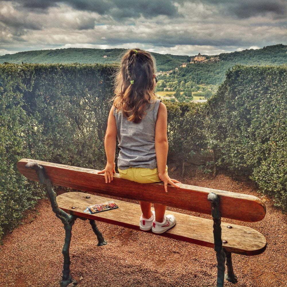 Dordogne was zu sehen: Marqueyssac Gärten