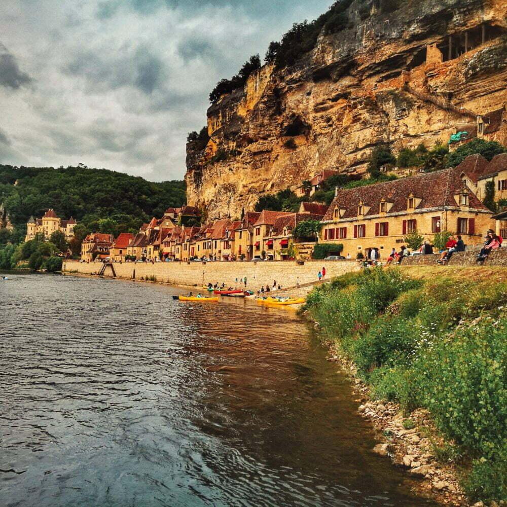 Perigord was zu sehen: La Roque Gageac