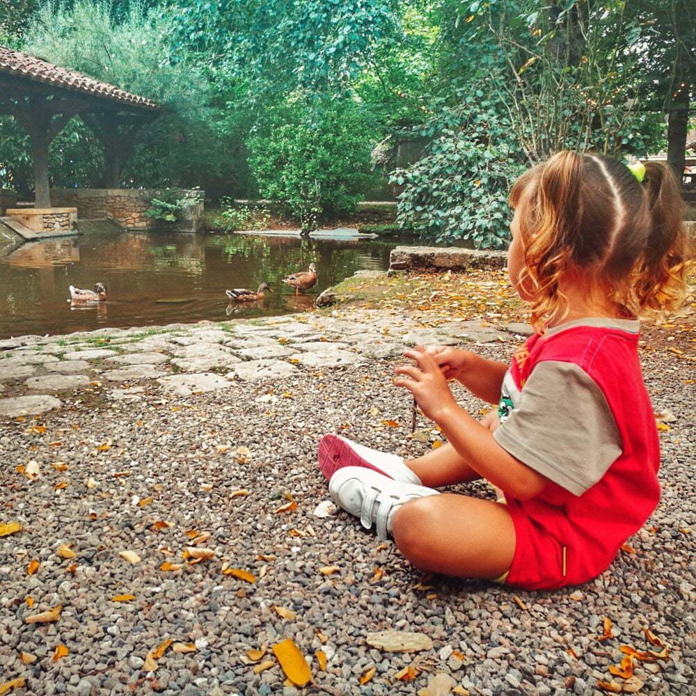 Was in der Dordogne mit Kindern in einem Wohnmobil zu tun ist: Le Bounat