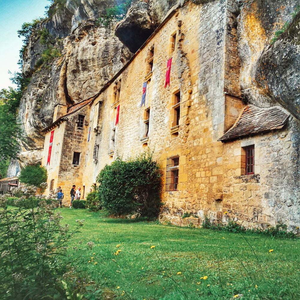 Attrazioni della Dordogna: Maison Forte Reignac