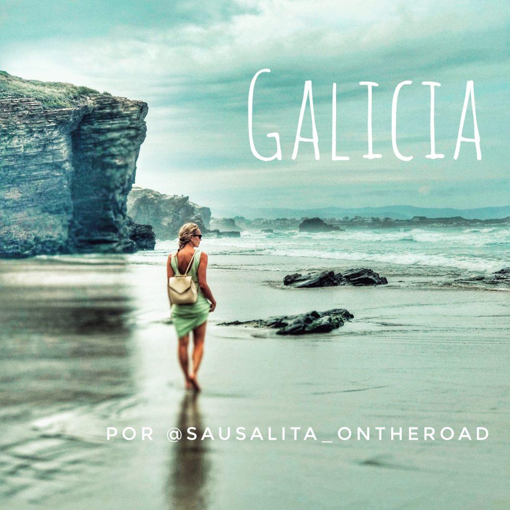 Ruta por Galicia en autocaravana. Playa de las Catedrales