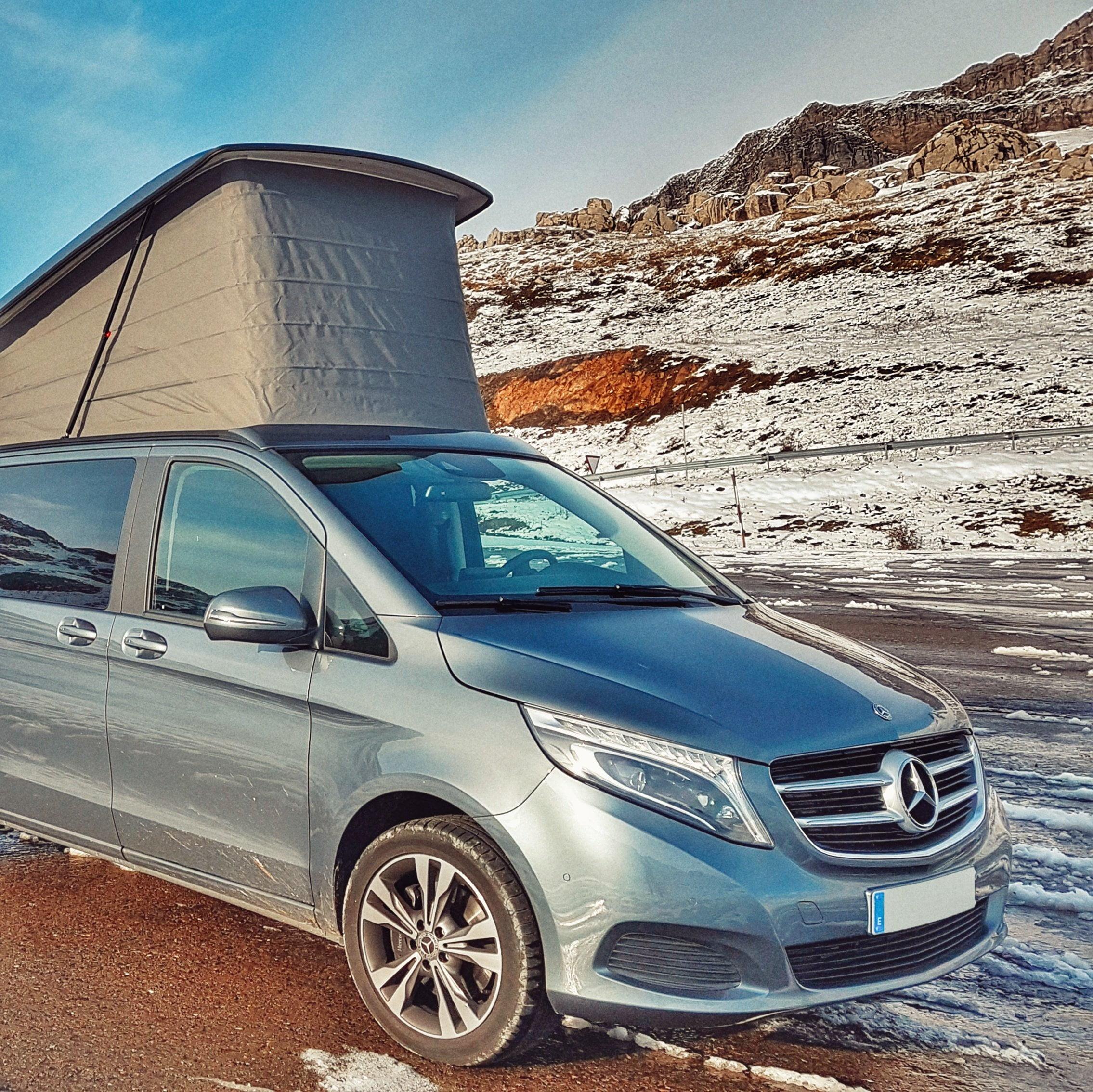 Markolik por Huesca en furgoneta camper