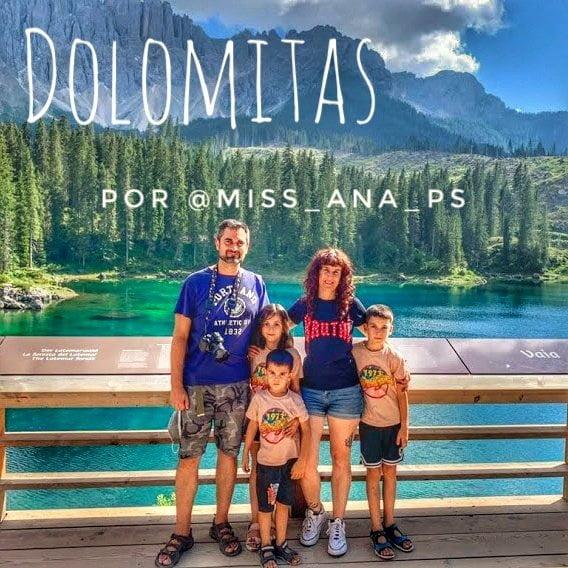 Ruta por Dolomitas en autocaravana con niños