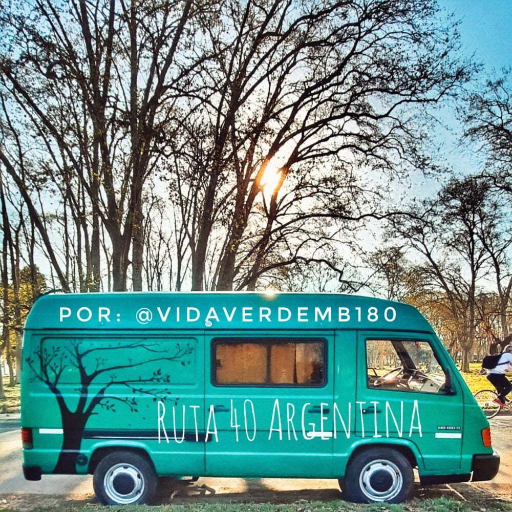 Argentina in camper route 40