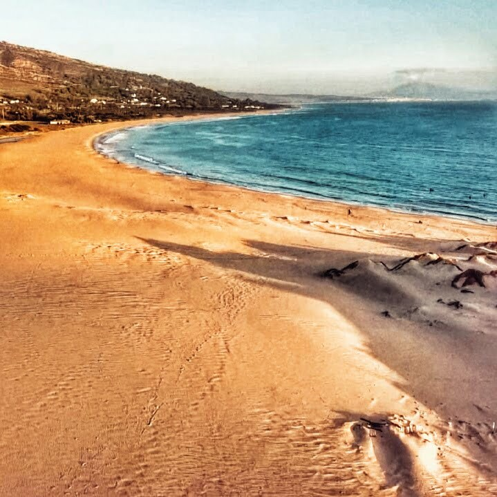 Cadiz en furgoneta: dunas de valdevaqueros situada en la playa de punta paloma, Tarifa