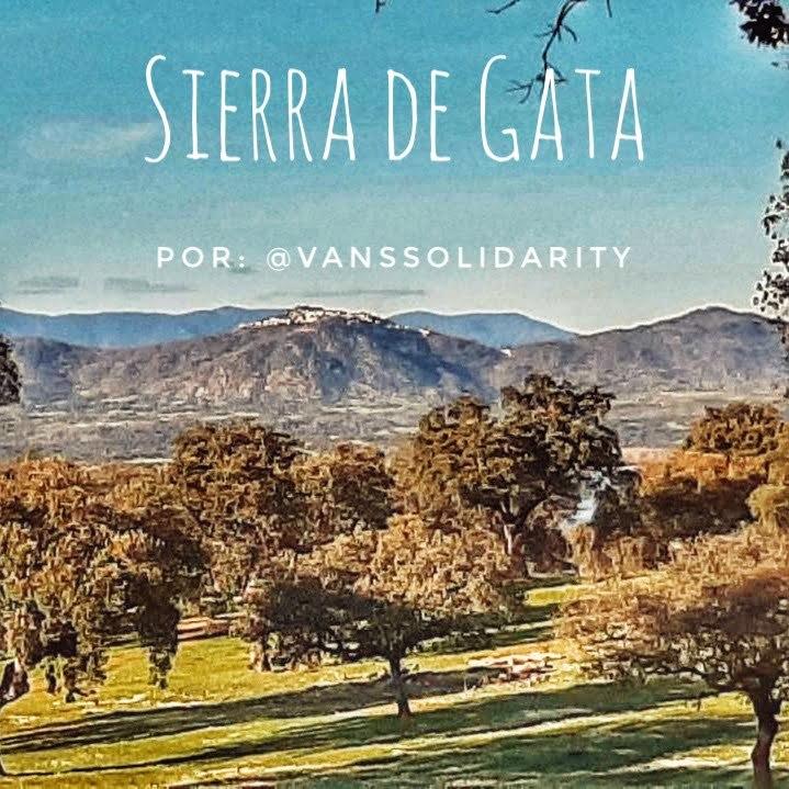 Càceres en autocaravana en una ruta per la Serra de Gata per @vanssolidarity