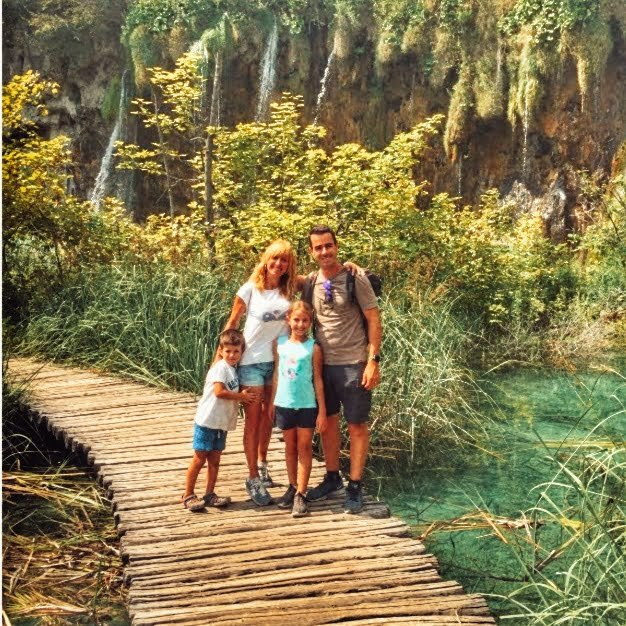 Route de camping-car en Croatie avec enfants