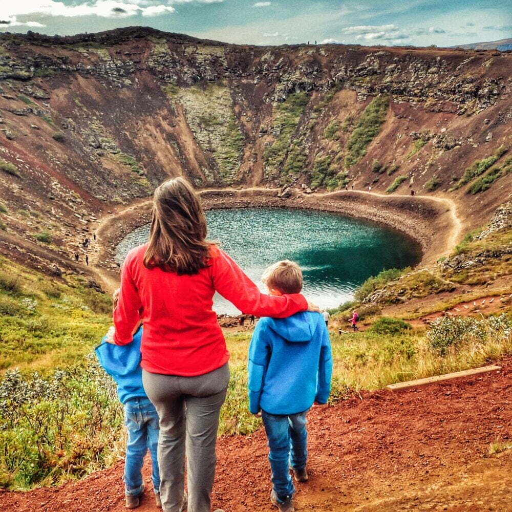 Islandia en autocaravana con niños