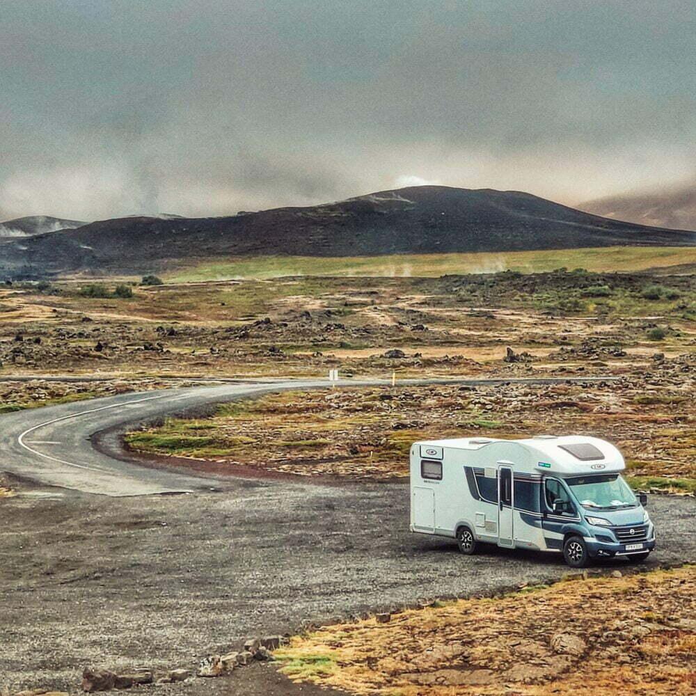 Islandia en autocaravana alquilar