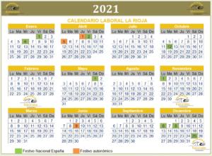 Calendario laboral de la Rioja 2021 para planificar nuestras próximas vacaciones Post-Covid