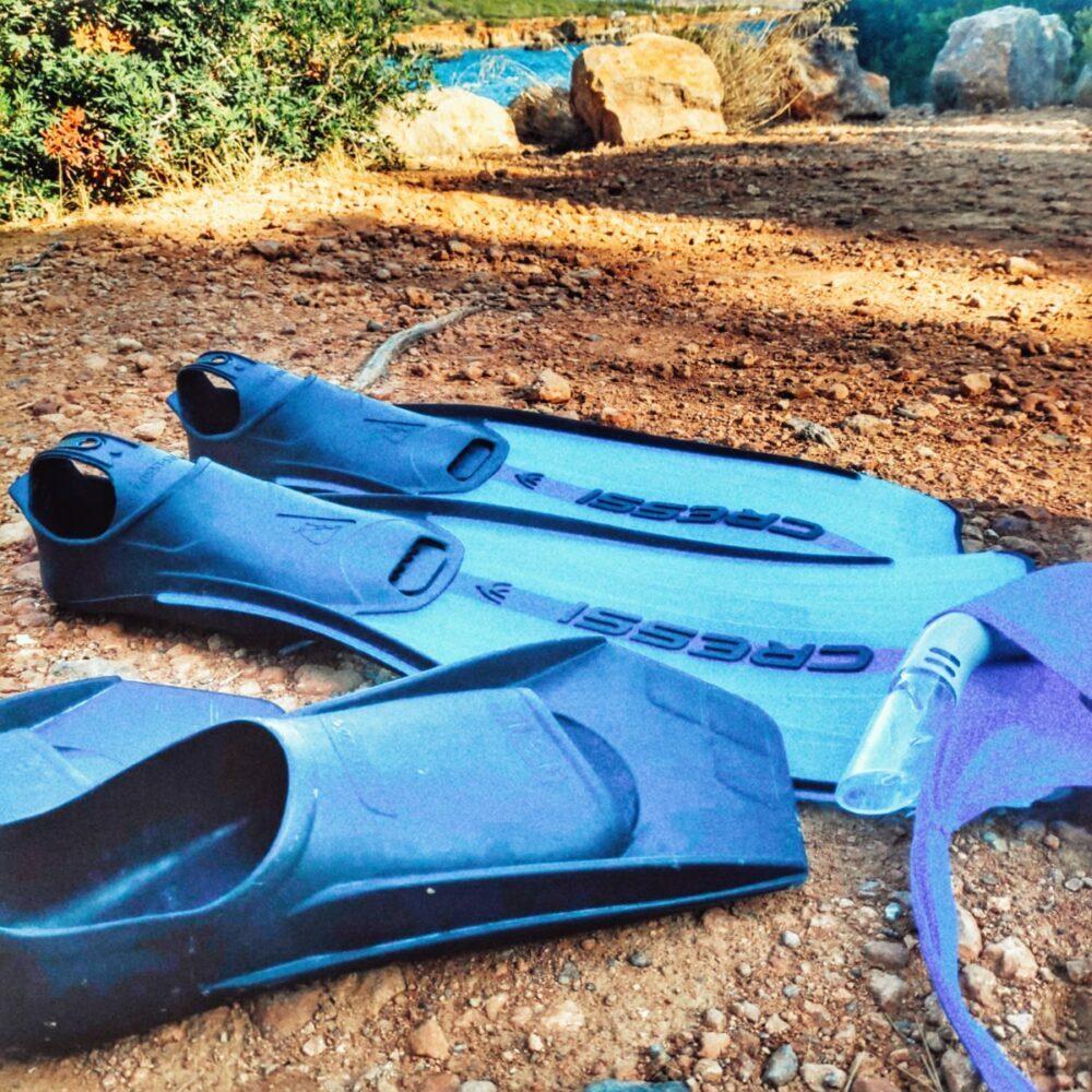 Snorkel en Ibiza en autocaravana o camper