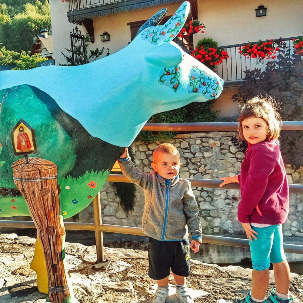 Vall d'Aran con niños