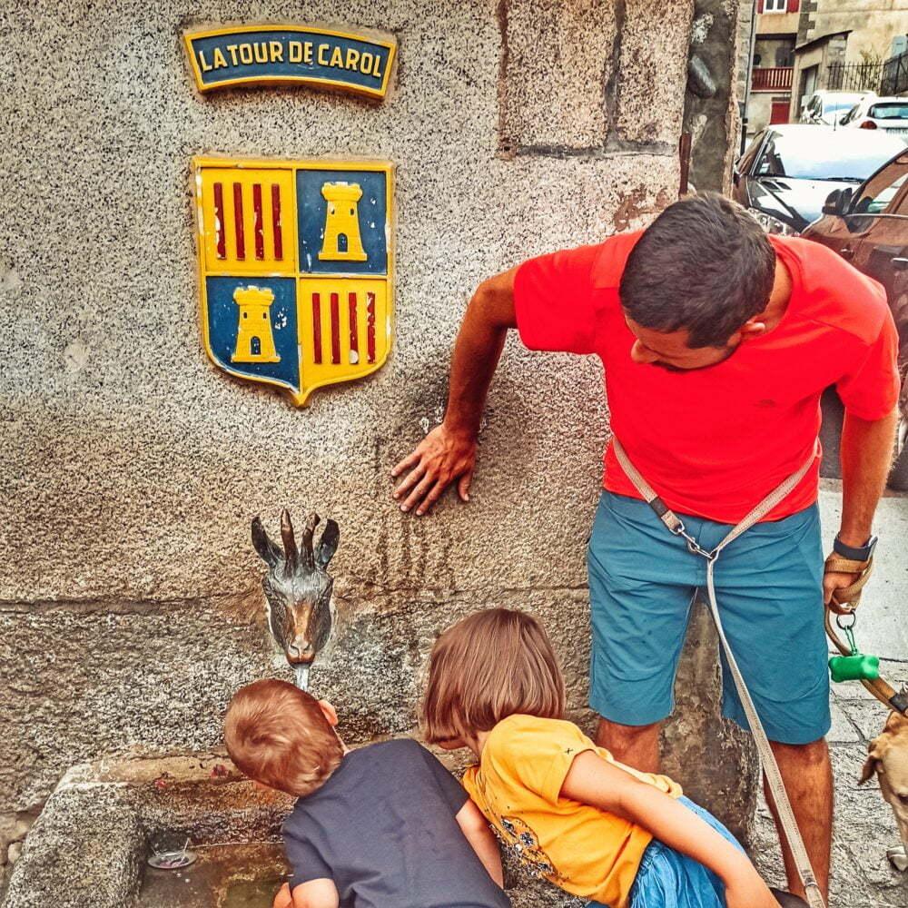 La Cerdaña Francesa con niños